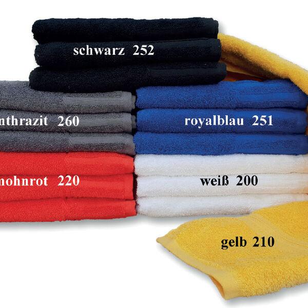 Badetücher 70 x 140 cm Badetücher 70 x 140 cm schwarz
